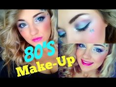 """BH Cosmetics """"Eyes on the 80's"""" palette makeup tutorial - YouTube"""