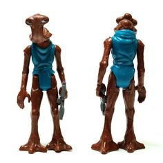 Hammerhead Star Wars Kenner 1977  One of the greatest sculpts from the first film's figures. The only disappointment is that they gave him a unitard to wear.