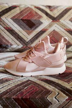Billig Mädchen Puma Wildleder Classic X Chain Sneaker Schuhe