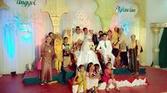With my family