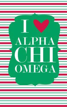 I heart Alpha Chi Omega