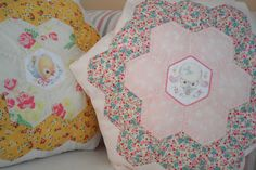 Atsuko Matsuyama Hexagon Pillow | Flickr - Photo Sharing!