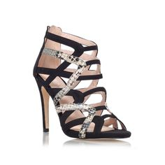cassie, black shoe by lipsy - women shoes party shoes & occasion
