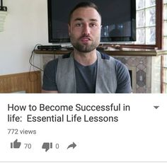 Brand new video. Head over to YouTube. User/ameerrosic  How to become successful in life #EntrepreneursOfInstagram #Entrepreneurs #EntrepreneurQuotes #EntrepreneurLife #EntrepreneurLifestyle #Biz #Business #QuitMyJob #BusinessMinded #HardWorkPaysOff #Motivation #BusinessSuccess #BusinessOwner #EntrepreneurMotivation #Successful #MoneyMaker #Results #SixFigures #BusinessCoaching #BusinessCoach #MindsetCoach #6Figures #SevenFigures #InspireDaily #BuildYourEmpire #BusinessGrowth #Success…