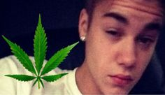 Justin Bieber is smoking weed now, ALLEGEDLY.