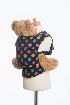 Lenny Lamb Polka Dot Rainbow Dark Doll Carrier - IN TRANSIT