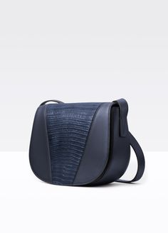 a2713c2ee4df Modern V Stamped Lizard Small Shoulder Bag Cyber Monday Sales
