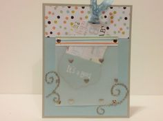 Baby card 3 front Baby Cards, Phone, Telephone, Mobile Phones