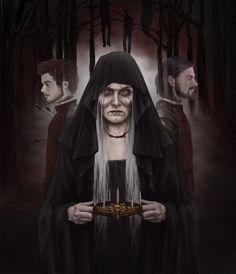 Lady Stoneheart: The Stranger's Handmaiden by denkata5698 on deviantART