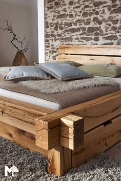 Bench, Storage, Inspiration, Furniture, Home Decor, Twin Size Beds, Rustic Bed, Bed Frame, Nightstand