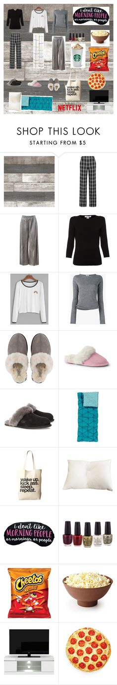 """SLEEPOVER"" by vogel-11 on Polyvore featuring Proenza Schouler, Sans Souci, Belford, Acne Studios, UGG, Lands' End, UGG Australia, PBteen, Dogeared and Levtex"