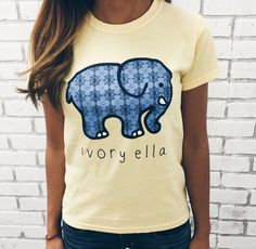 2063d490d Ivory Ella blue and yellow tee Shelly Cove