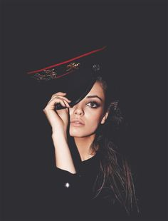 Mila Kunis  http://pinterest.com/mmagers/so-you-agree-you-think-you-re-really-pretty/