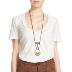 e62eaec8d38cc Free People S Small Short Sleeve Cream white Tee Shirt Boho Long Layered  NWT Top