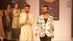 "Watch #RahulDev​ walk for #GovindKumarSingh​'s collection #Panigrahna, inspired by the ""Sita Swayamwar"""