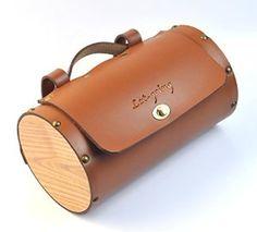 Amazon.com : Vintage Bike Pure Leather Front Handlebar or Saddle Big Handle Bag 3L (Brown) : Sports & Outdoors