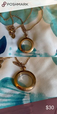 Origami Owl Legacy Locket w/charm shelf insert, charms, and ... | 472x236