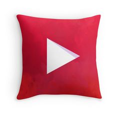 "This YouTube throw pillow would be PERFF for the ""Anything Doctor Who, YouTube, pigs, or SpongeBob related."" category...."