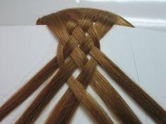 peinados con trenzas paso a paso | Como en Casa