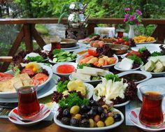I love Turkish breakfast and Turkish tea!
