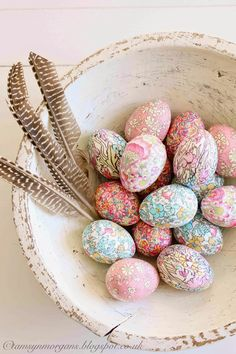 The Villa on Mount Pleasant: Liberty Print Eggs