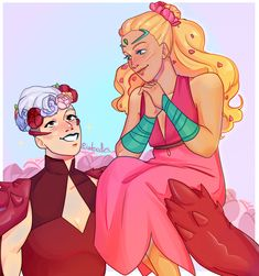 potatoodles: they made me soft in season 5 ★ more like queen of power Cute Lesbian Couples, Cutest Couple Ever, Cartoon Crossovers, She Ra Princess Of Power, Call Her, Dreamworks, Girl Power, Cool Pictures, My Life
