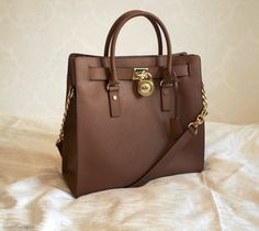 Michael Kors Hamilton Large Coffee Tote
