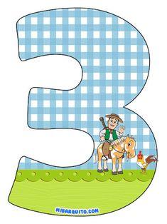 Numeros de La Granja de Zenon para descargar gratis   Mi Barquito Clip Art, Kawaii, Printables, Lol, Pillows, Outdoor Decor, Home Decor, Farmhouse, Frases
