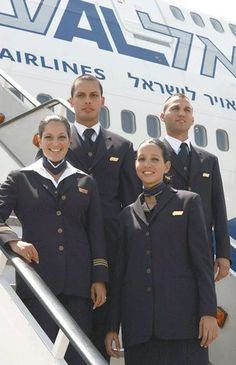 18 photos of El Al flight attendants, the most beautiful in the world | Jewish Telegraphic Agency