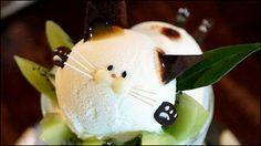 ネコを前にするとあまりの愛くるしさに思わず「ねこちゃーん!!ねこちゃーん!!」と叫びたくなることがありますが、そんなネコをパフェにしてしまったのが京都・上京区にある「ことばのはおと」の「初恋にゃん