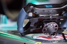 Steering wheel for Lewis Hamilton, Mercedes AMG F1 W04 (Montreal 2013)