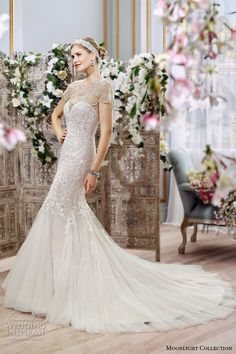 stunning mermaid gown trumpet fit flare sweetheart neckline embroidered beaded caplet j6399 side