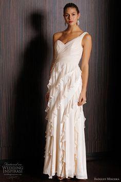 one shoulder wedding dress  Shoulder Dress #2dayslook #anoukblokker #ramirez701 #lily25789 #ShoulderDress     www.2dayslook.com