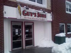 Guy's Subs Akron NY- Everytime I go home... This has to be on the list of places to go to!