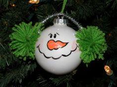 Snowman Ornie
