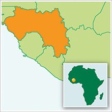 Guinea - Where my sponsor child is from.