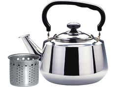 1.6 Liter Stainless Steel Tea Kettle with Strainer #WLA002