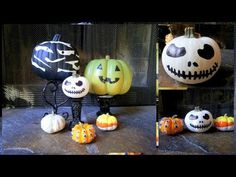 ▶ Decorate Pumpkins This Fall {No Carve} - YouTube