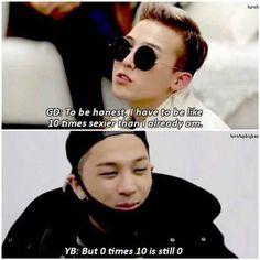 Taeyang & G Dragon of BIGBANG xD xD