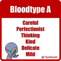 Things you need to know about blood type A ...