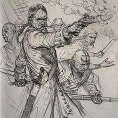 Cazadores de Comics: Primer sketchbook de Karl Kopinski a la venta