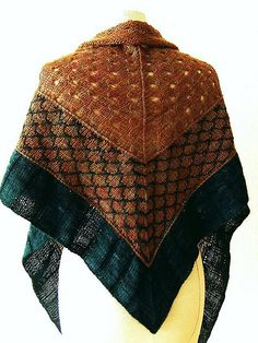 Really like this a LOT. Great color scheme --  lily-kaninchen's Wild wild west shawl.