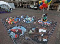 3d street art   World's Largest 3D Street Art