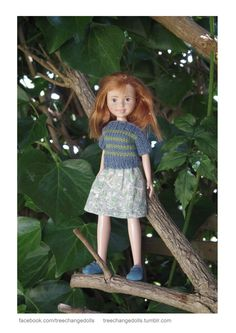 Tree Change Dolls - This is what  doll should be looked like! these dolls make me feel delight.