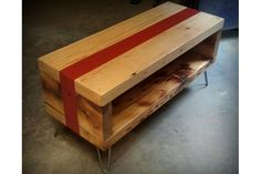Recycled Brooklyn Salvaged Floor Beam Coffee Table $335  Best Of Etsy: 50 Cool Finds Made In NYC
