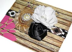 BUY 2 Get 1 FREE Special  Gold Black and by lilDazzlingBOWtique