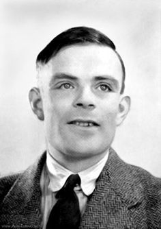 Alan Turing. Maths genius, code-breaker at Bletchley Park, intellectual founding father of the computer, hounded for his homosexuality.