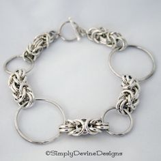 Chain maille and links