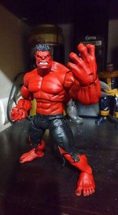 Red hulk (Marvel Legends) Custom Action Figure