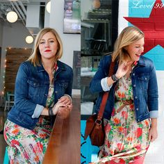 Linnea of Cville Niche Magazine is ready for spring in our denim jacket. Fitted and feminine, this jacket is the perfect way to add some flair to your outfit.